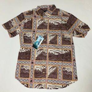 Reyn Spooner Mens Hawaian Shirt Size Medium New